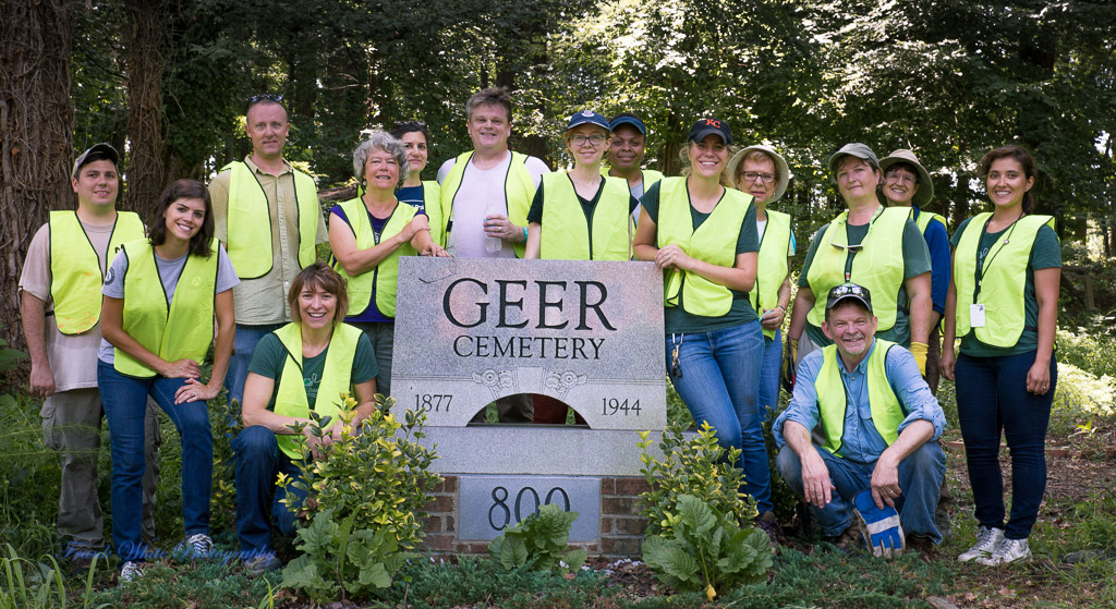 Keep Durham Beautiful Geer Street Cemetery